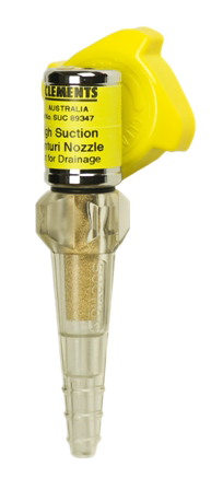 Venturi Nozzle - High Vacuum with or without gauge